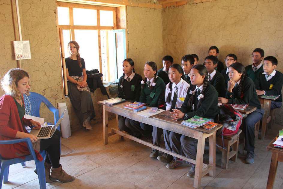 healtheducation in simikot oktober 2015 01