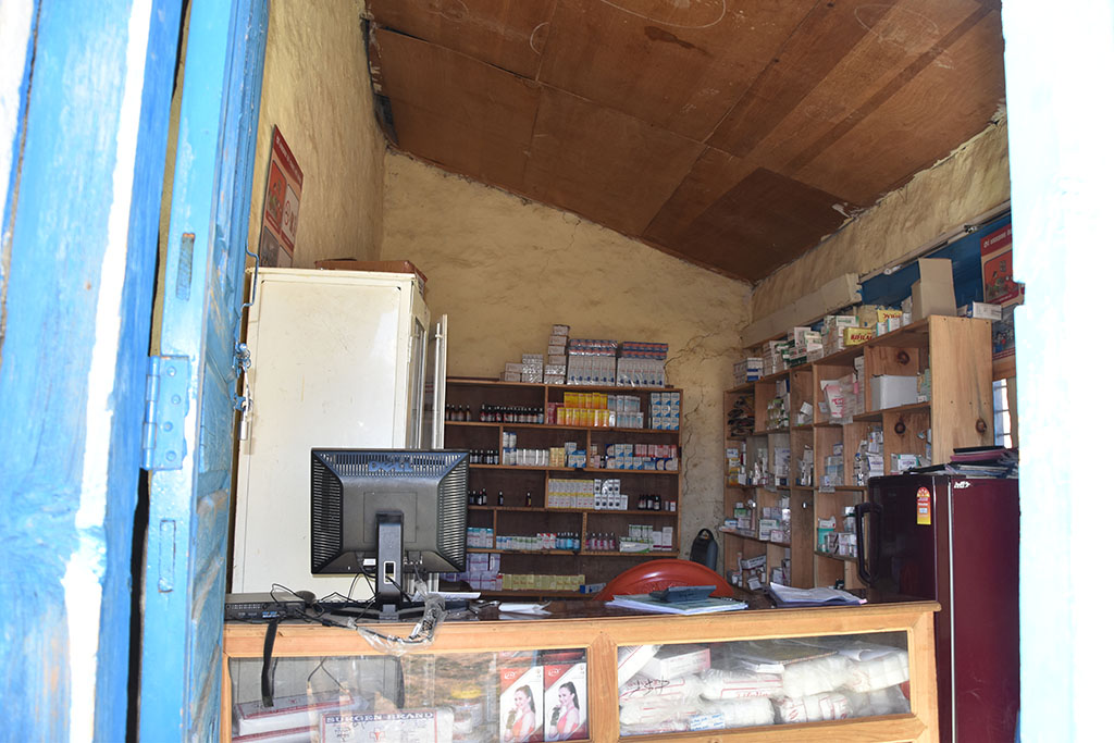The pharmacy in Simikot, Nepal.